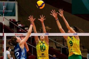 Mundial U18: Las Panteritas cayeron frente a Brasil