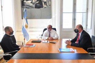 Perotti en la Rosada: reunión con   7 ministros y saludo al presidente -