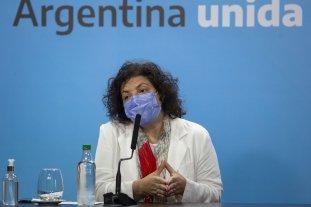 """Vizzotti fundamentó las medidas anunciadas: """"la situación epidemiológica es indiscutible"""""""