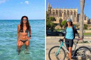 A los 51 años, Gabriela Sabatini sorprendió a sus seguidores con sus fotos en Mallorca -