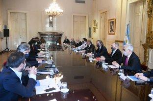 Manzur encabezó la primera reunión de gabinete