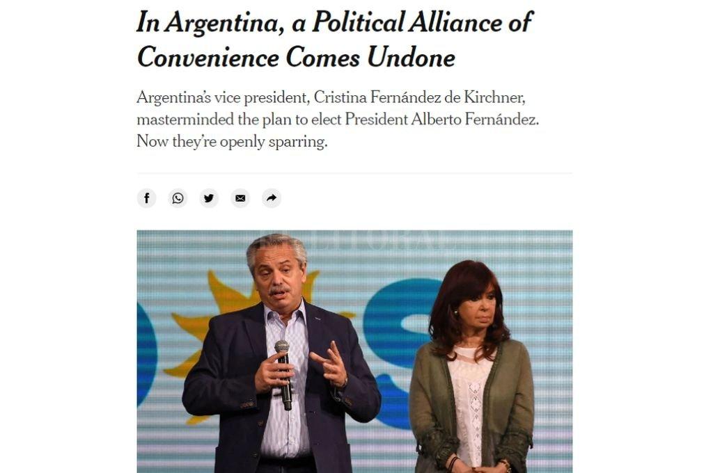 Crédito: Captura digital nytimes.com