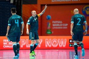 Argentina se enfrenta a Paraguay por los cuartos de final del Mundial de Futsal