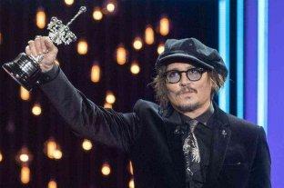 Johnny Depp, homenajeado en el Festival de Cine de San Sebastián