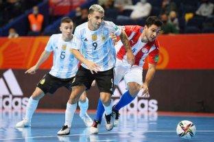 Argentina goleó a Paraguay y avanzó a cuartos en el Mundial de Futsal
