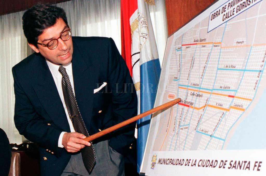 En su cargo de intendente de la ciudad de Santa Fe.  Crédito: Archivo El Litoral