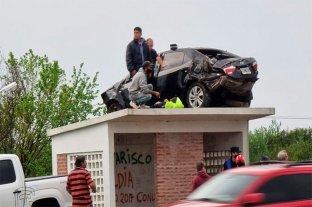 Auto sobre la garita: se conoció el resultado de la pericia del accidente -