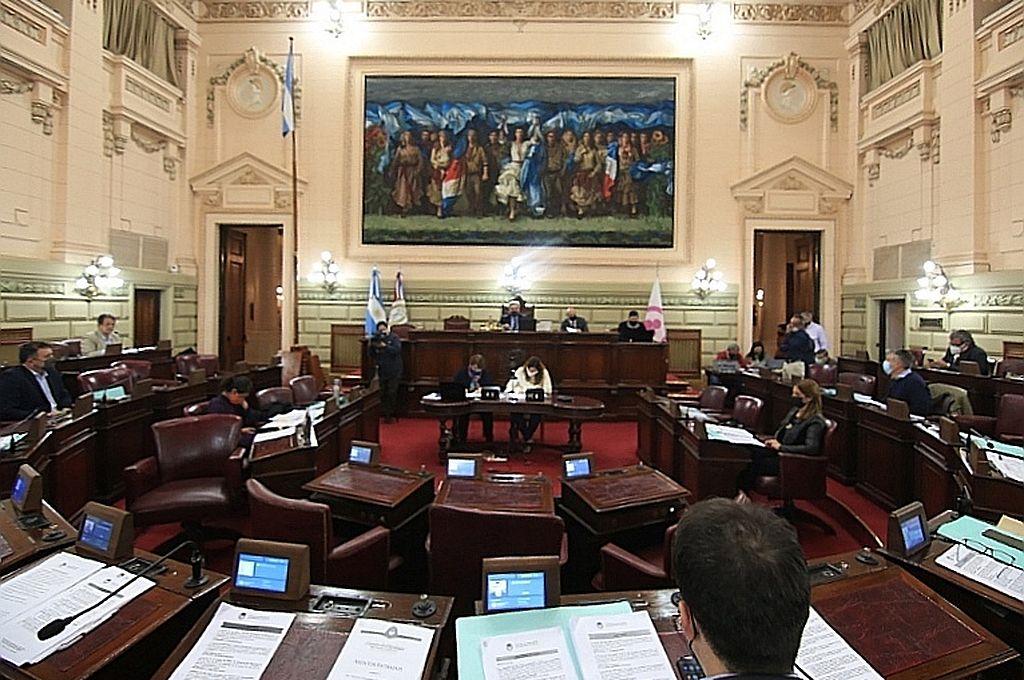 Después de varios meses, la sesión contó con la presencia de los jefes de bloques en el recinto. Crédito: Cámara de Diputados