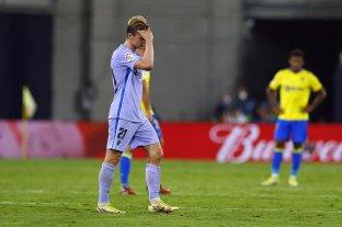 Barcelona no levanta cabeza: empató 0 a 0 con Cádiz