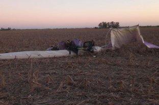 Un piloto murió al estrellarse con su avioneta en Córdoba