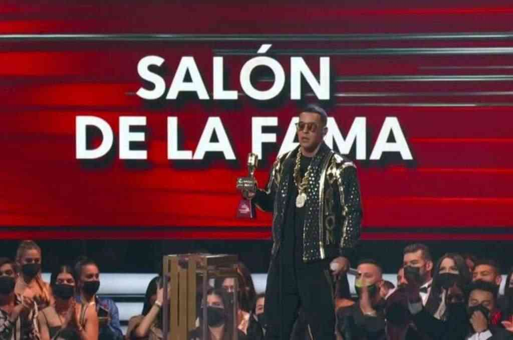 El artista puertorriqueño recibió el premio Billboard Salón de la Fama. Crédito: Imagen ilustrativa