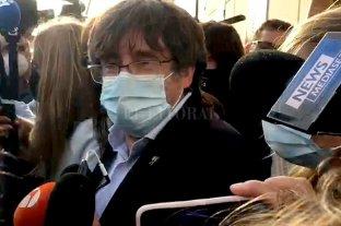 Puigdemont quedó en libertad y podrá salir de Italia