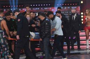 Facundo Mazzei se accidentó durante el Súper Duelo de Showmatch y tuvo que ser hospitalizado