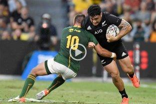 All Blacks vencieron a Sudáfrica y son campeones del Rugby Championship 2021