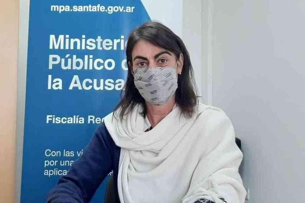 La fiscal Clelia Trossero está al frente de la investigación por los robos de elementos del ferrocarril a una empresa de Laguna Paiva. Crédito: Gentileza MPA