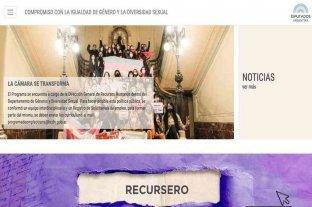 La Cámara de Diputados lanza un portal con información legislativa de género