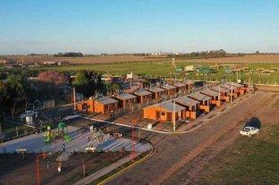 La Comuna de Timbúes entregó un plan habitacional de 14 viviendas