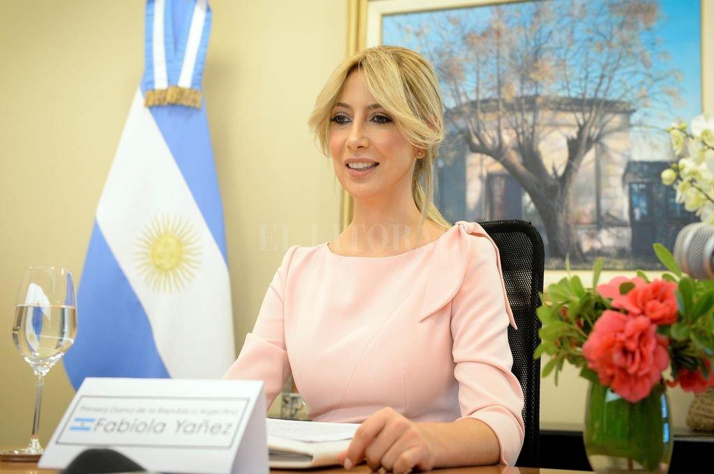 Fabiola Yáñez está embarazada. En una república democrática la paternidad del presidente es un asunto estrictamente privado. Crédito: Archivo