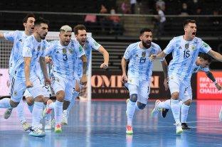 Mundial de futsal: Argentina eliminó a Rusia en los penales y enfrentará a Brasil en semifinales