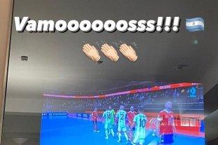 Messi celebró el pase a semifinales del seleccionado de futsal