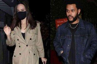 Crecen los rumores de romance entre Angelina Jolie y The Weeknd