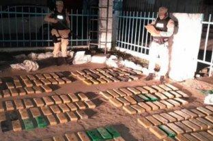 Hallaron 158 kilos de marihuana en las costas del río Paraná