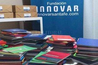 Fundación Innovar continúa haciendo crecer, el primer Banco de Cuadernos de Santa Fe