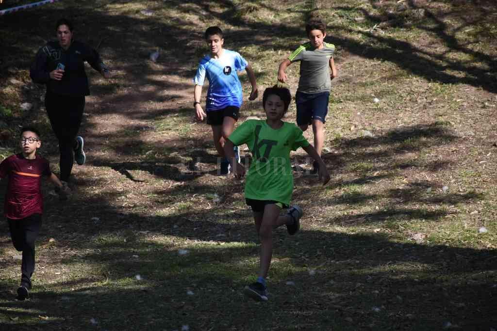 En el circuito especialmente diseñado, participaron atletas de todas las edades. Crédito: Pablo Aguirre
