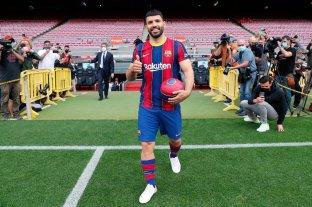 Se acerca el debut de Sergio Agüero en Barcelona