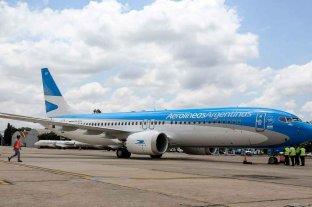 Aerolíneas Argentinas conectará El Calafate con Córdoba y Bariloche