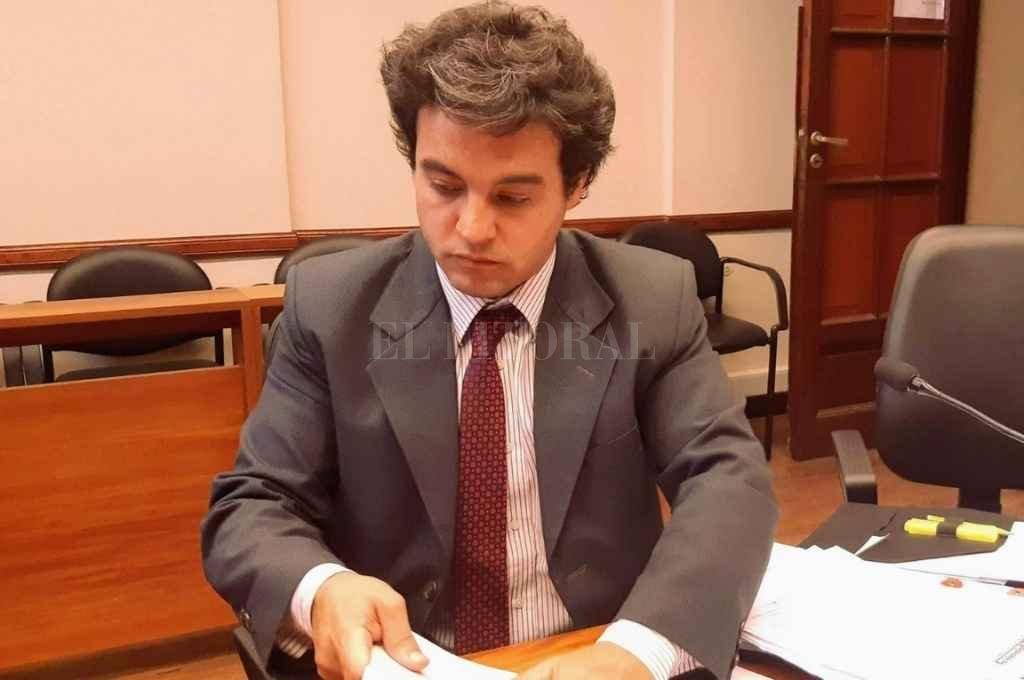 El fiscal Francisco Cecchini está al frente de la investigación. Crédito: El Litoral.