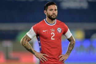 Chile desafectó a Mena y convocó a Nicolás Díaz para la triple fecha FIFA