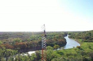 Construyen torres para la detección de incendios en el delta del Paraná