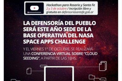 La Defensoría del Pueblo será este año sede de la base operativa del Nasa Space Apps Challenge
