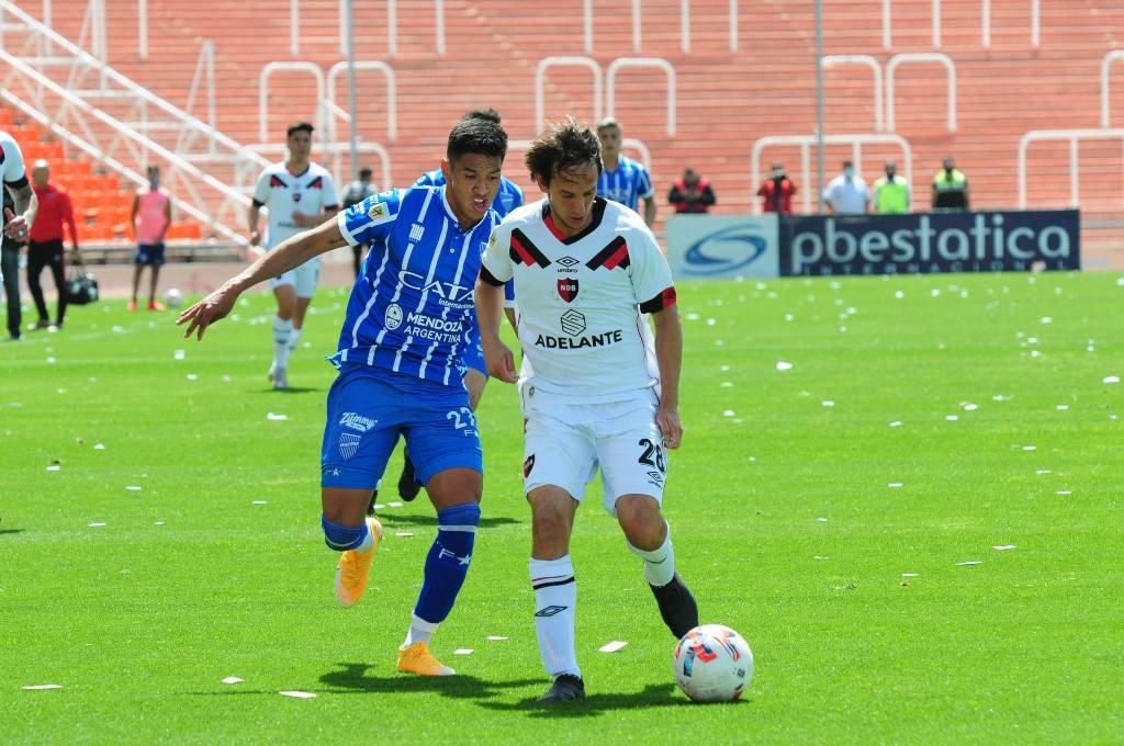 La Lepra igualó 2 a 2 en Mendoza ante Godoy Cruz. Foto:Télam.