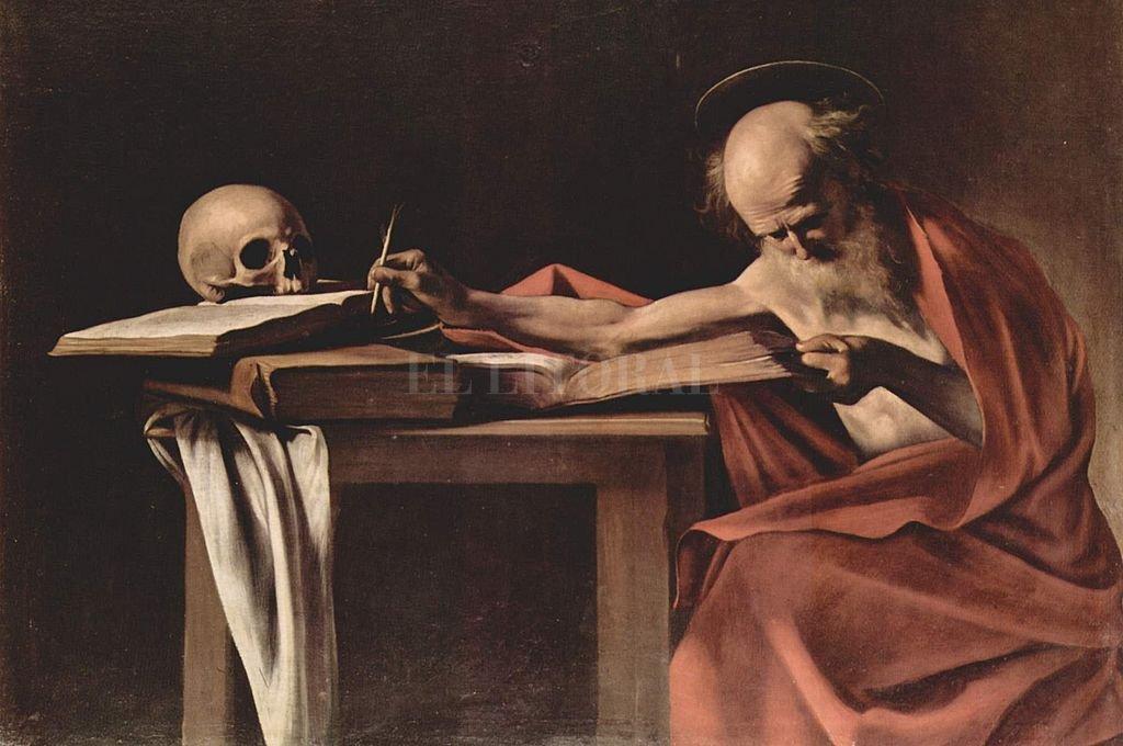San Jerónimo pintado por Caravaggio. Crédito: Archivo El Litoral