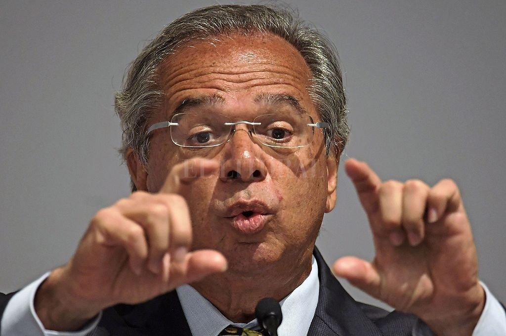 Paulo Guedes, ministro de Economía de Brasil. Crédito: Archivo El Litoral