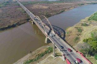 Puente Carretero Santa Fe -  Santo Tomé: ¿sentido único en los horarios pico?
