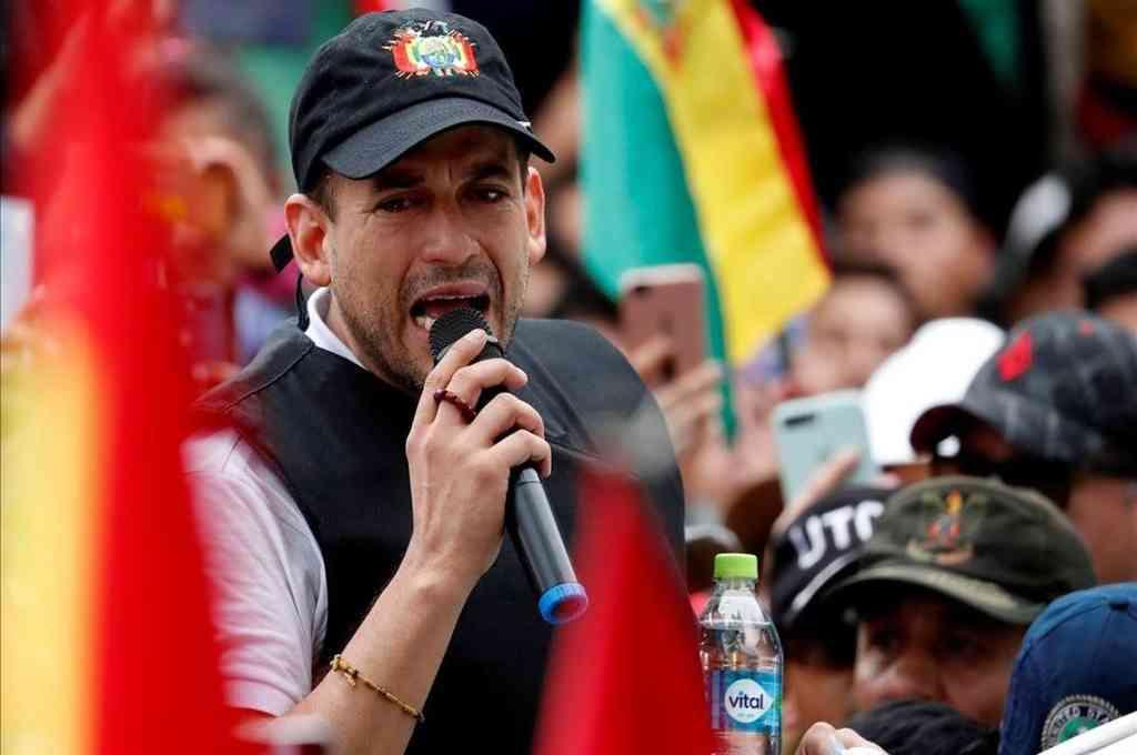 Luis Fernando Camacho, el gobernador del departamento boliviano de Santa Cruz. Crédito: Imagen ilustrativa