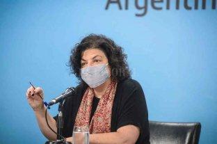 """Vizzotti sostuvo que la situación epidemiológica """"se encuentra dentro de lo esperado y lo planificado"""""""