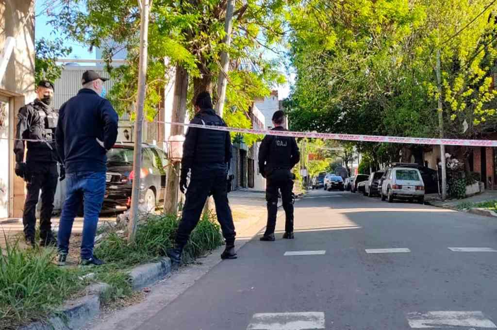 Además, se hallaron granadas antidisturbios detonadas y plomos deformados, dijeron los investigadores. Crédito: Imagen ilustrativa