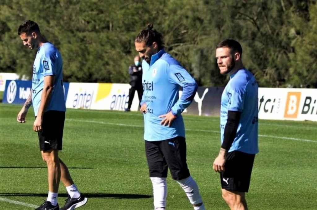 Otra vez los dos: Uruguay vuelve a contar con Suárez y Cavani.   Crédito: Gentileza