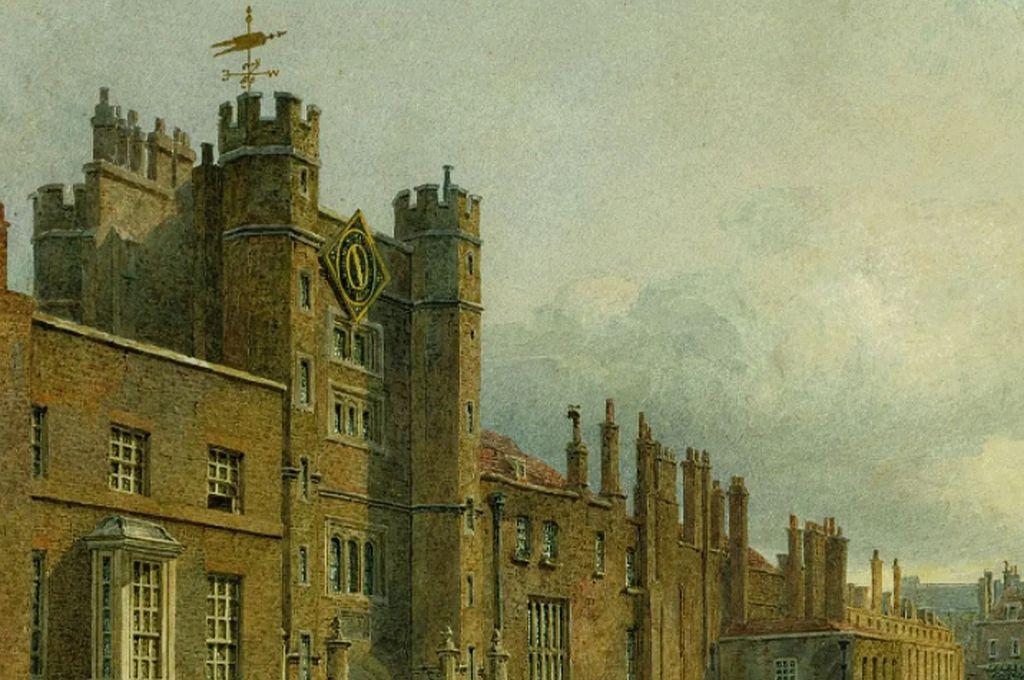 Palacio de Saint James Crédito: Royal Collection
