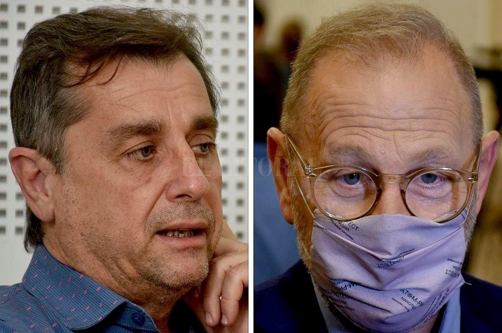 Danilo Capitani y Marcos Corach. Crédito: El Litoral