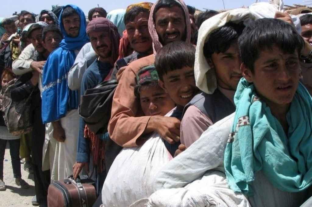 Desde la llegada de los talibanes al poder, miles de afganos abandonaron su país y otros tantos tratan de hacerlo. Crédito: Gentileza