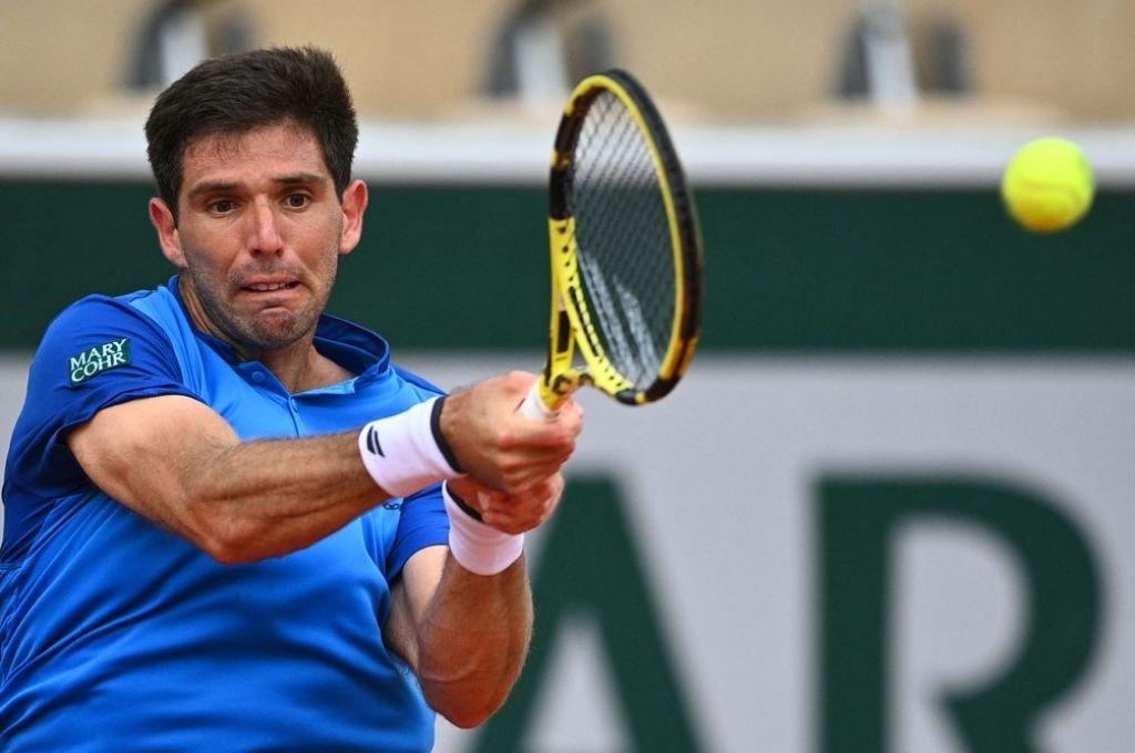 Federico Delbonis es uno de los que jugará su primer partido en el torneo. Crédito: Gentileza