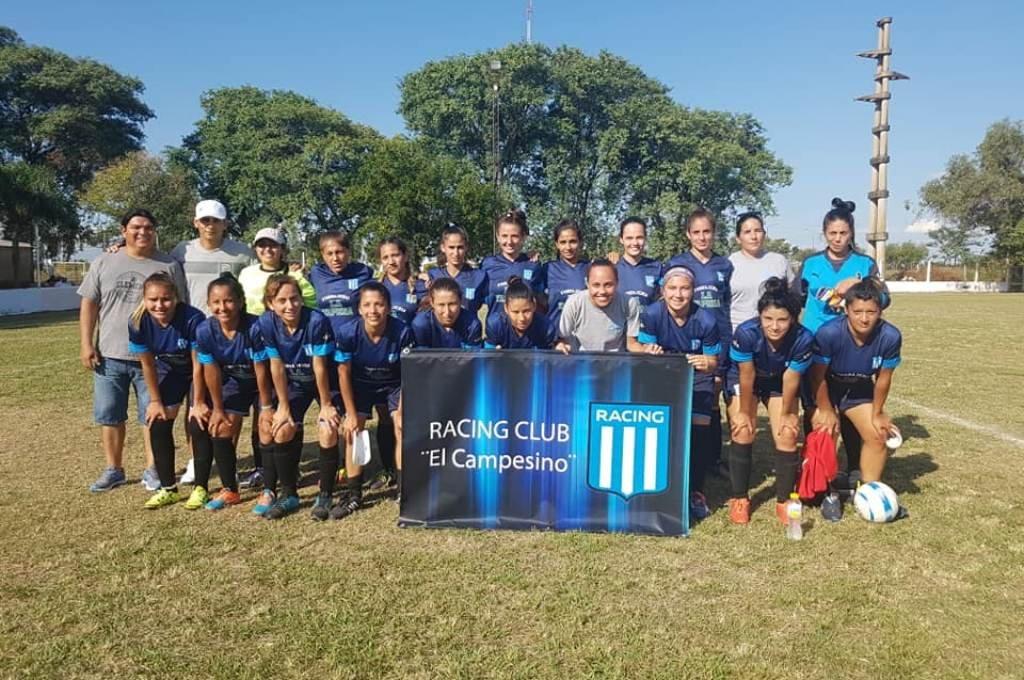 Racing El Campesino, que representará a la liga en la Copa Federación femenina a disputarse a partir del 23 de octubre. Foto:Gentileza.