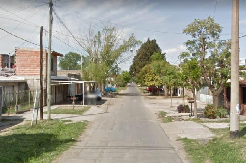 El lugar del ataque armado. Foto:Google Street View.