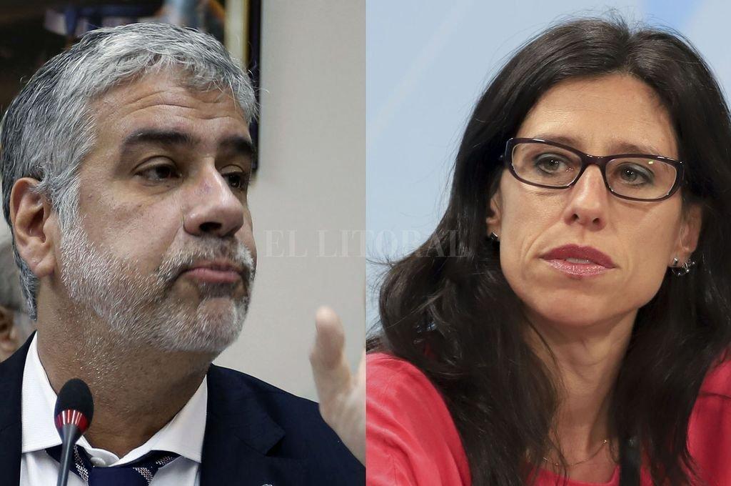 Roberto Feletti y Paula Español. Crédito: NA