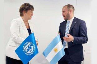 Guzmán viaja a Washington para participar de la Asamblea del FMI
